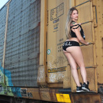 maya_two_black_booty_shorts_jordans_oreo_retro_scavengers_custom_cut_train_tracks_graff_2ill_clothing_street_pharmacist_11