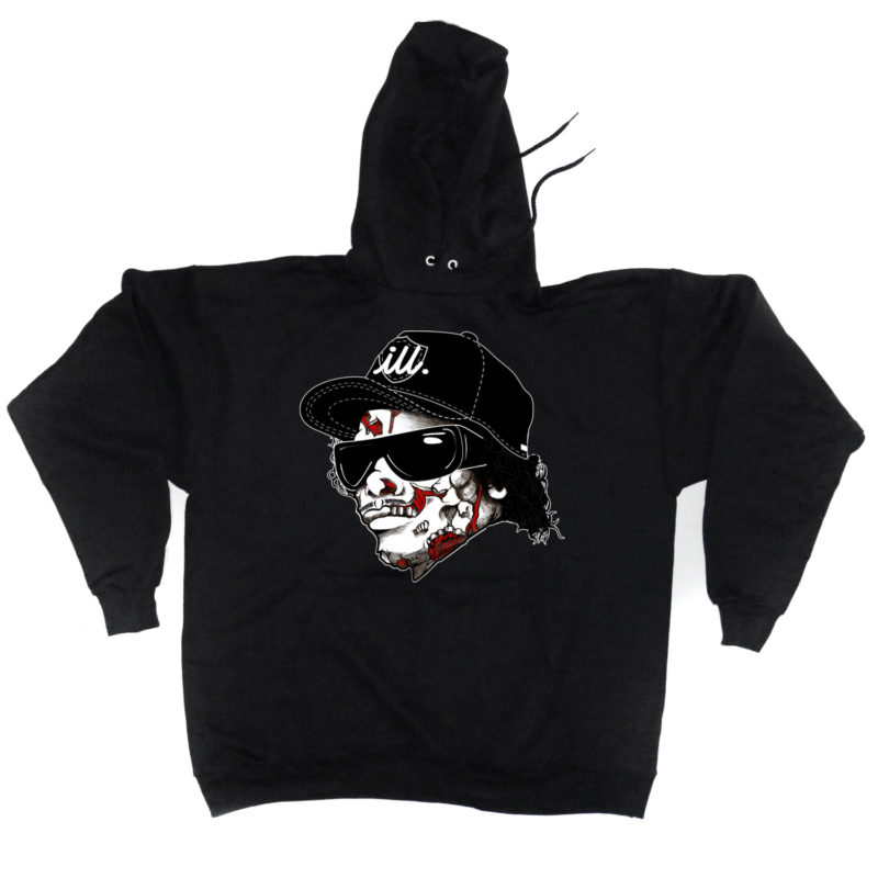 eazy_e_zombie_black_hoody_2ill_twoill_two_ill_clothing_swag_living_walking_dead_nwa