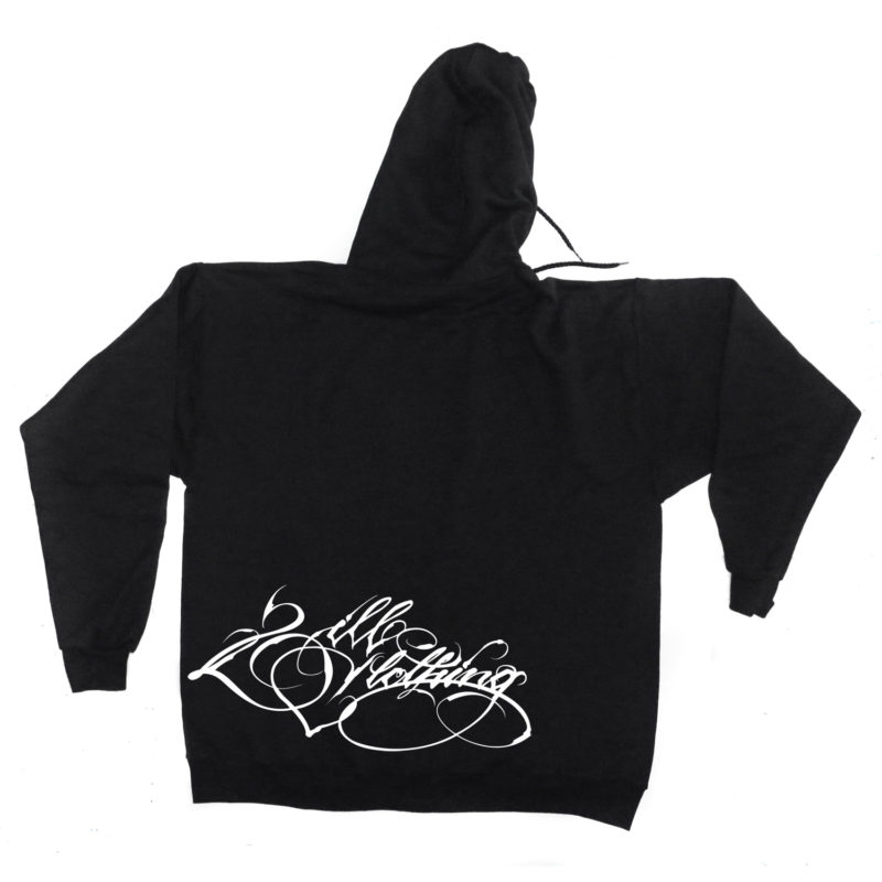 two_ill_motive_black_hoody_front_2ill_clothing_twoill_typography_back_tag_styles