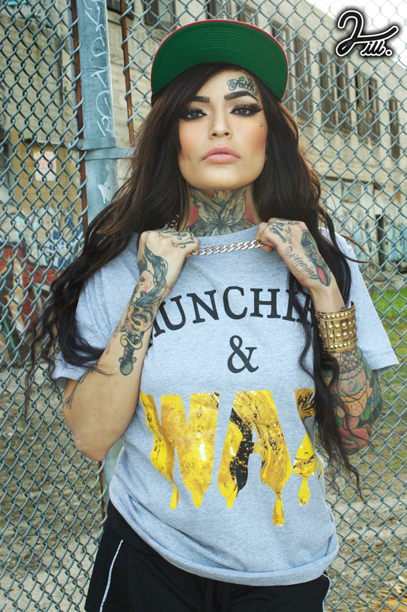 munchies and wax grey tee 2ill clothing karlee two ill downtown los angeles 7