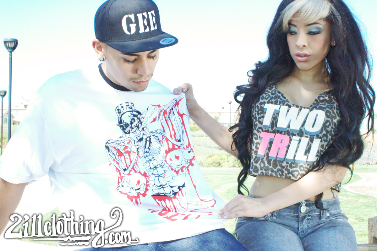 two trill two ill clothing 2ill leopard tank black light king uncle same t chris gee 2